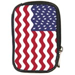 American Flag Compact Camera Cases Front