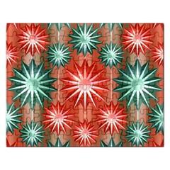Star Pattern  Rectangular Jigsaw Puzzl