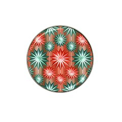 Star Pattern  Hat Clip Ball Marker (10 pack)
