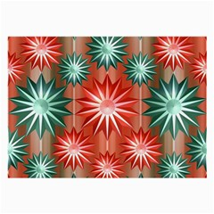 Star Pattern  Large Glasses Cloth