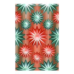 Star Pattern  Shower Curtain 48  x 72  (Small)