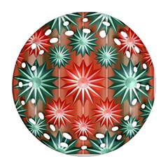 Star Pattern  Ornament (round Filigree)