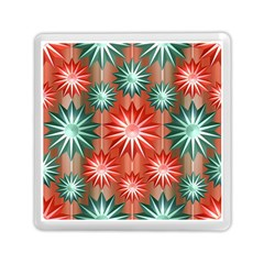 Star Pattern  Memory Card Reader (Square)