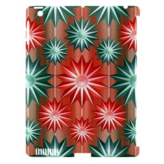Star Pattern  Apple Ipad 3/4 Hardshell Case (compatible With Smart Cover)