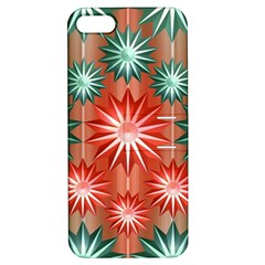 Star Pattern  Apple Iphone 5 Hardshell Case With Stand