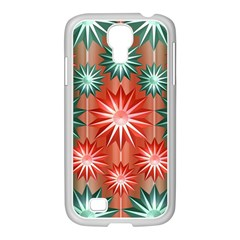Star Pattern  Samsung Galaxy S4 I9500/ I9505 Case (white)