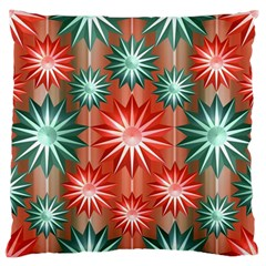 Star Pattern  Large Flano Cushion Case (one Side)
