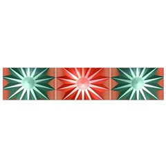 Star Pattern  Flano Scarf (small)