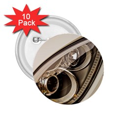 Spotlight Light Auto 2 25  Buttons (10 Pack)