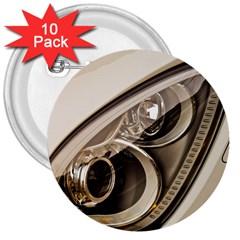 Spotlight Light Auto 3  Buttons (10 Pack)