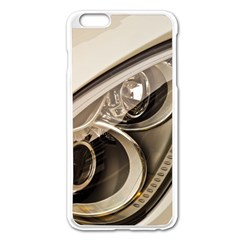 Spotlight Light Auto Apple Iphone 6 Plus/6s Plus Enamel White Case