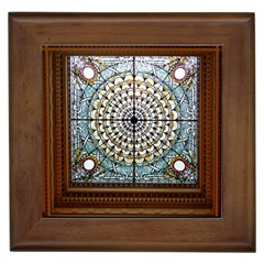 Stained Glass Window Library Of Congress Framed Tiles