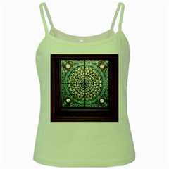 Stained Glass Window Library Of Congress Green Spaghetti Tank