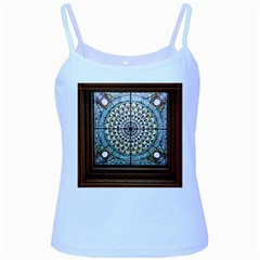 Stained Glass Window Library Of Congress Baby Blue Spaghetti Tank