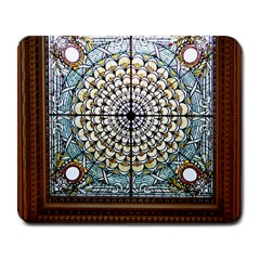 Stained Glass Window Library Of Congress Large Mousepads