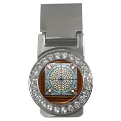 Stained Glass Window Library Of Congress Money Clips (CZ)