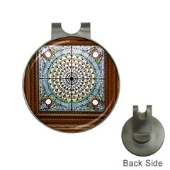 Stained Glass Window Library Of Congress Hat Clips with Golf Markers