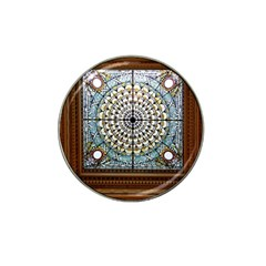 Stained Glass Window Library Of Congress Hat Clip Ball Marker