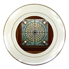 Stained Glass Window Library Of Congress Porcelain Plates