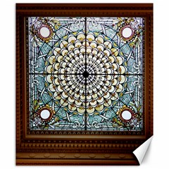 Stained Glass Window Library Of Congress Canvas 20  x 24