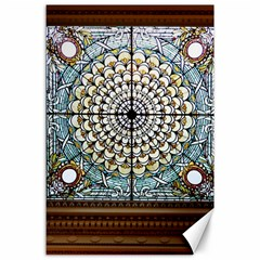 Stained Glass Window Library Of Congress Canvas 24  X 36