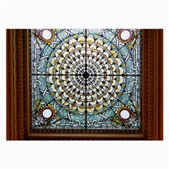 Stained Glass Window Library Of Congress Large Glasses Cloth (2-Side)