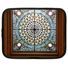 Stained Glass Window Library Of Congress Netbook Case (large)