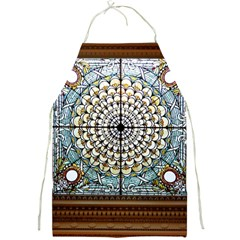 Stained Glass Window Library Of Congress Full Print Aprons