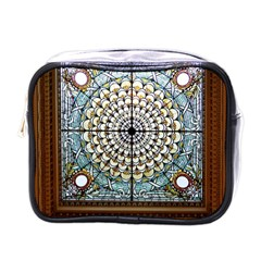 Stained Glass Window Library Of Congress Mini Toiletries Bags