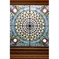 Stained Glass Window Library Of Congress 5.5  x 8.5  Notebooks