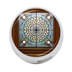 Stained Glass Window Library Of Congress 4-Port USB Hub (One Side)