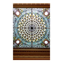 Stained Glass Window Library Of Congress Shower Curtain 48  x 72  (Small)