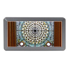 Stained Glass Window Library Of Congress Memory Card Reader (Mini)