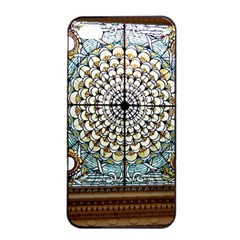 Stained Glass Window Library Of Congress Apple iPhone 4/4s Seamless Case (Black)