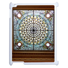 Stained Glass Window Library Of Congress Apple Ipad 2 Case (white)