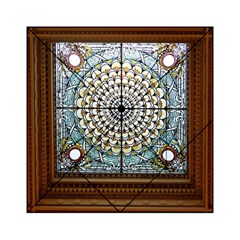 Stained Glass Window Library Of Congress Acrylic Tangram Puzzle (6  x 6 )
