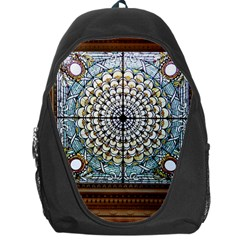 Stained Glass Window Library Of Congress Backpack Bag