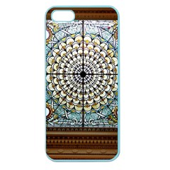 Stained Glass Window Library Of Congress Apple Seamless Iphone 5 Case (color)