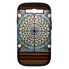 Stained Glass Window Library Of Congress Samsung Galaxy S Iii Hardshell Case (pc+silicone)