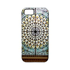 Stained Glass Window Library Of Congress Apple Iphone 5 Classic Hardshell Case (pc+silicone)