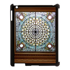Stained Glass Window Library Of Congress Apple Ipad 3/4 Case (black)