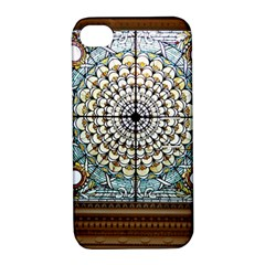 Stained Glass Window Library Of Congress Apple Iphone 4/4s Hardshell Case With Stand