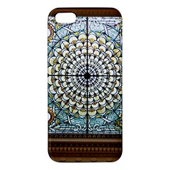 Stained Glass Window Library Of Congress Apple Iphone 5 Premium Hardshell Case