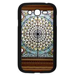 Stained Glass Window Library Of Congress Samsung Galaxy Grand DUOS I9082 Case (Black)