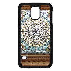 Stained Glass Window Library Of Congress Samsung Galaxy S5 Case (black)