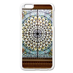 Stained Glass Window Library Of Congress Apple iPhone 6 Plus/6S Plus Enamel White Case