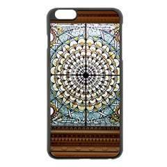 Stained Glass Window Library Of Congress Apple Iphone 6 Plus/6s Plus Black Enamel Case