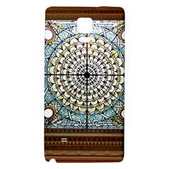 Stained Glass Window Library Of Congress Galaxy Note 4 Back Case