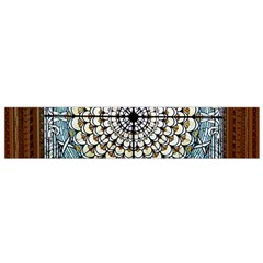 Stained Glass Window Library Of Congress Flano Scarf (small)
