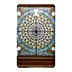 Stained Glass Window Library Of Congress Samsung Galaxy Tab S (8.4 ) Hardshell Case